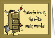 Administrative Professional Appreciation card