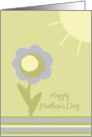 Sunshine And Love Mother's Day Card