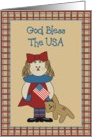 God Bless This Country card