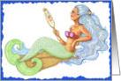 Mirror Mermaid card