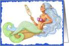 Mirror Mermaid card