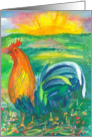 Happy Birthday Year Of The Rooster Chinese Zodiac card