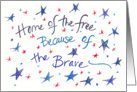 Happy Veterans Day Military Soldier Thank You card