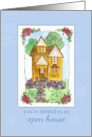 Open House Invitation Business Real Estate Victorian Cottage card