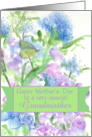 Happy Mothers Day Grandmother Spring Garden Butterfly card