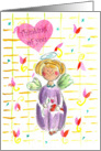 Thinking of You Nice Day Angel Hearts card