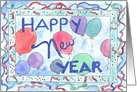 Happy New Year Celebration Card