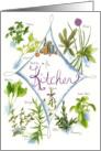 Herbal Kitchen Garden Note Card