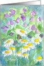 April Flower Birthday Card