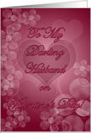 To My Darling Husband! card