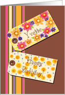 Happy Birthday Yvette card
