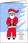 Christmas Letter from Santa - You Personalize card