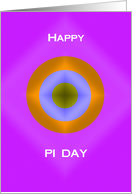 Pi Day Card -- Happy Pi Day card