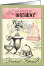Joyous Birthday, Dearest Friend card