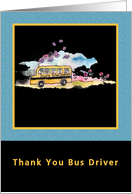 Thank You Bus Driver card