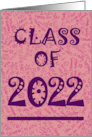 2013 Grad Announcement - Pink card
