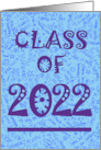2013 Grad Announcement - Blue card
