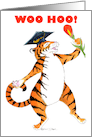 Graduation Party Invite, Tiger card