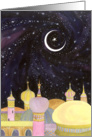 Arabian Night Ramadan Card