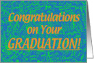College Grad Congratz-Blue card