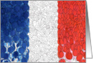Bleu Blanc Rouge Bastille Day card