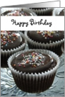 Happy Birthday - cupcake lover card