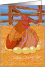 Chicken and Eggs card