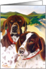 German Shorthairs card