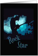Rock Star card