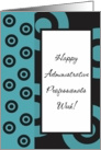 Happy Admin Pro Day - Turquoise card