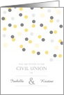 Civil Union - Gay Invitation card