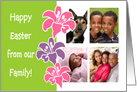 Happy Easter Family - Photo Card