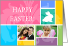 Pastel Easter Floral - Photo Card
