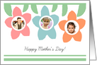 Flower Mother's Day - Photo Card