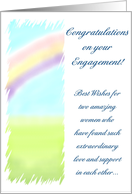 Conratulations - Lesbian Couple card