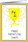 Happy Father's Day - Coach card