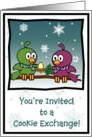 Christmas - Cookie Swap Invitation card