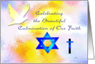 Interfaith of Easter and Passover card