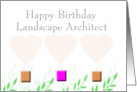 Happy Birthday Landscape Architect card