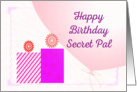 Birthday Wishes Secret pal card