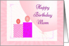 Birthday Wishes Mom card