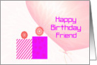 Birthday Wishes Friend card