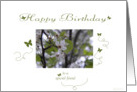 Spring birthday wishes for a special friend card