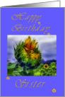 Sunflower Sister Birthday card