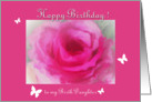Rosy Birthday for Daughter card