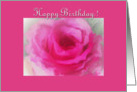 Rosy Birthday card