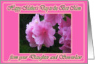 Azalea Mother's Wish card