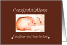 Congratulations Daughter and Son-in-law Expecting card