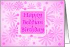 Daisy Beddian Birthday card