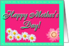 Happy Mother's Day Daisy card